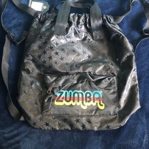 Zumba 2 Way Bag Feel Good Dance Good